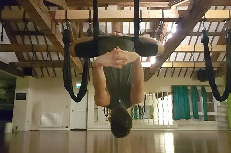 Aerial Yoga at The Yoga Studio Carlisle