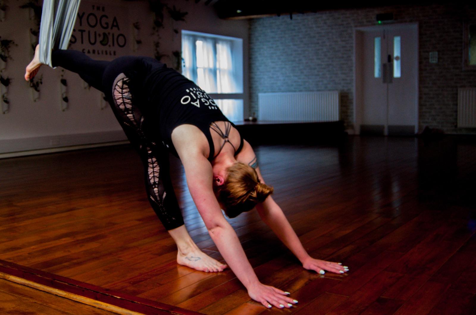 April Workshop- Aerial Yoga Workshop with Liv Wiggett
