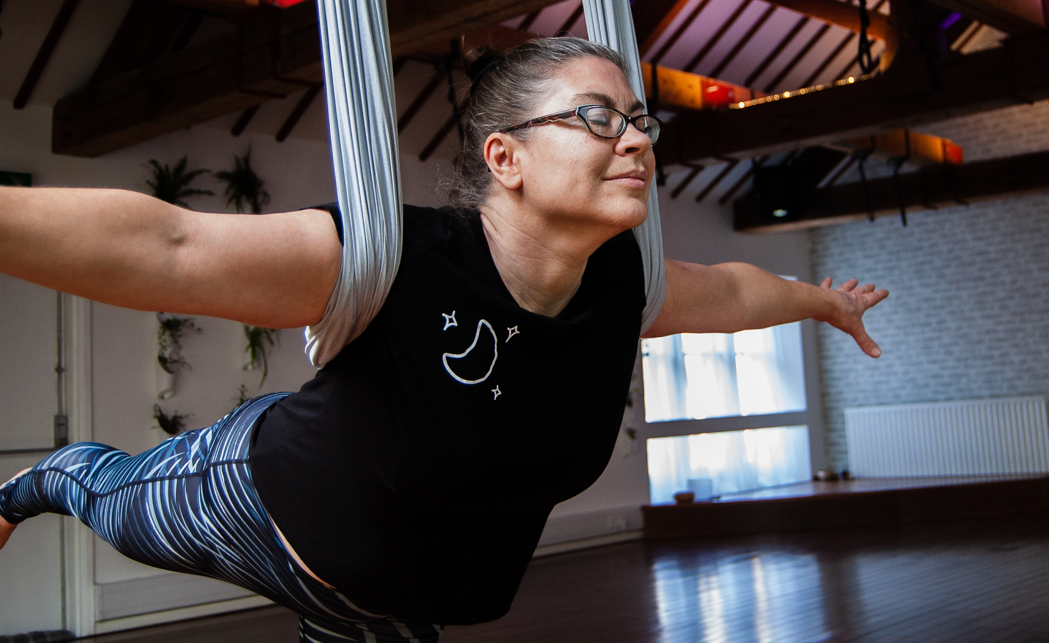 Aerial Yoga 4 Week Beginners Course with Sammy Carter