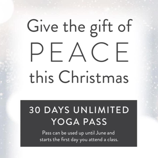 GIve the gift of Peace this Christmas